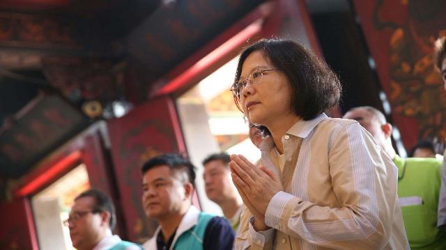 蔡英文心碎了!美国介入台湾选举支持民进党 马英九:必败