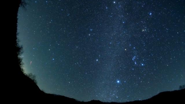 2018年日本上空的双子座火流星