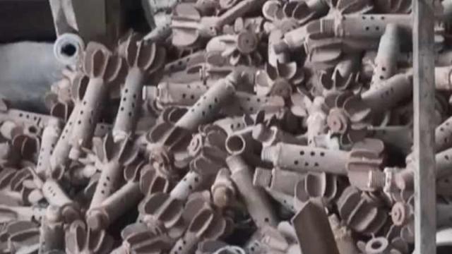 直击战斗民族暴力摧毁恐怖分子兵工厂 这样的据点一个月炸15个