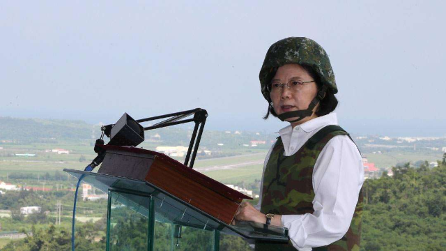 """台军报告首称""""中国""""? 台防务部门:绝对没有"""