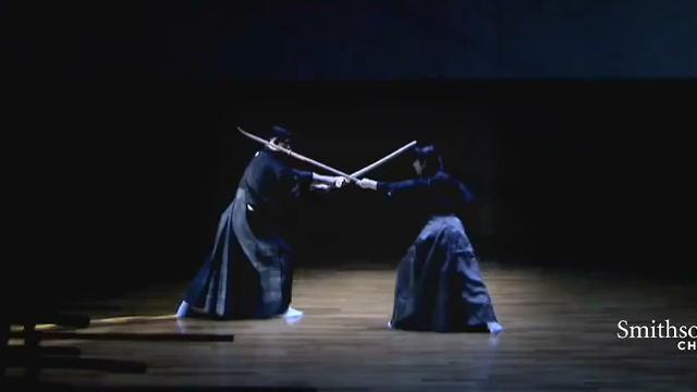日本不仅有女武士 而且她们的薙刀术现在还有人在学习