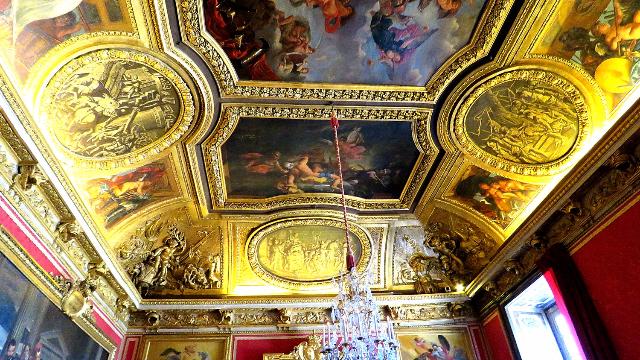世界美景 法国金壁辉煌的皇宫 凡尔赛宫