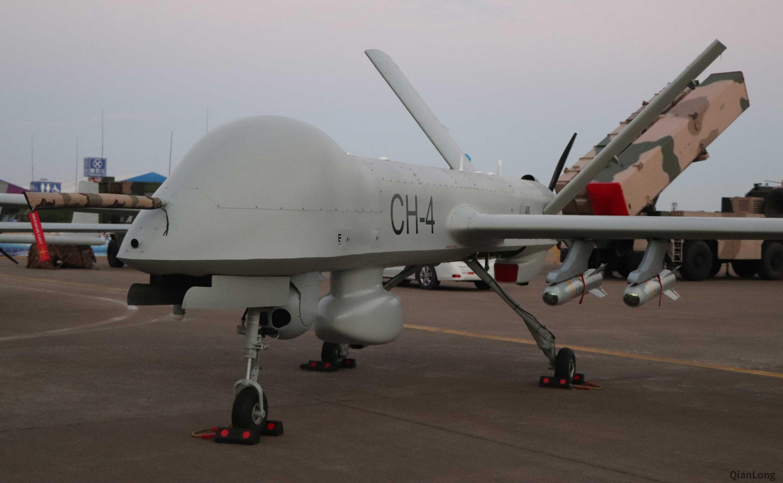 中国最畅销无人机彩虹-4将换发 飞行高度超过珠穆朗玛峰