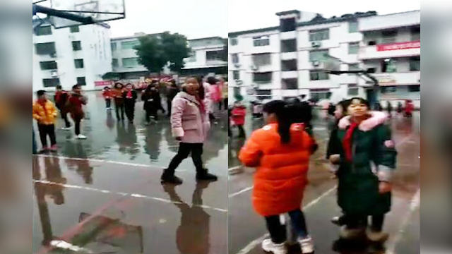 现场:四川珙县发生5.3级地震 当地小学紧急疏散