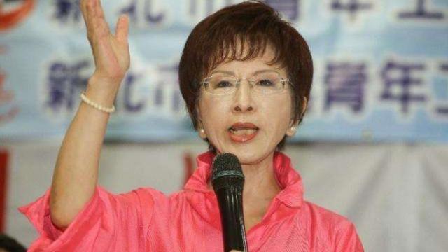 洪秀柱再发声:中华民族伟大复兴台湾不会缺席!