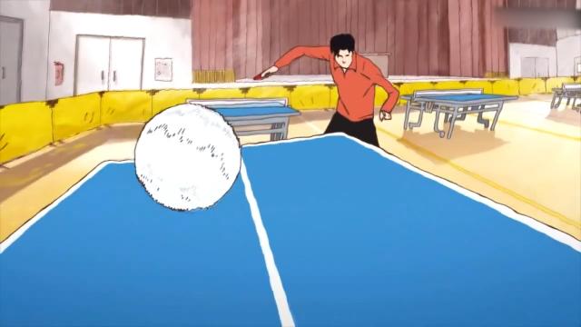 中国人打乒乓在日本动漫里就是神啊