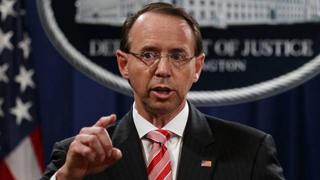 """美政坛""""离职潮""""持续!司法部副部长将走人 曾受特朗普攻击"""