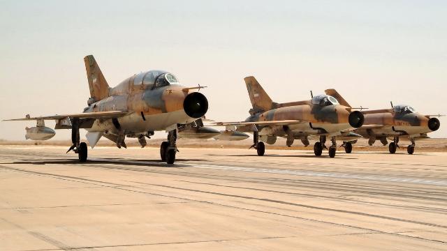 伊朗举行大规模空军演习 中美俄战机罕见并肩作战