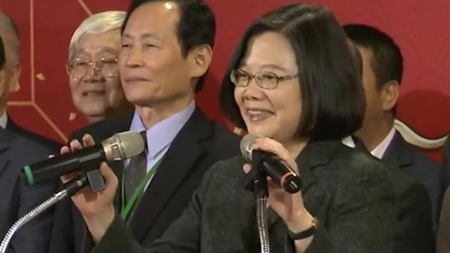 2020还要争连任?蔡英文终于首度回应 岛内哀嚎:台湾完蛋了