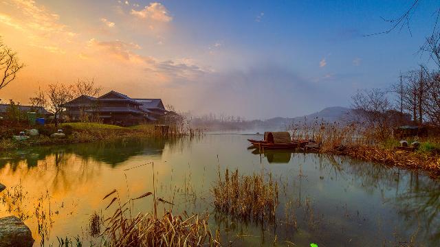 在中国最美禅意小镇开一间茶室,惊艳了时光!I 无锡·拈花湾