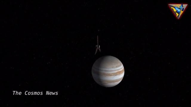 NASA的朱诺号太空飞船拍摄到的近距离木星照片
