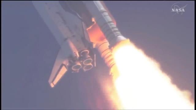 亚特兰蒂斯STS-132航天飞机-震撼的发射场面