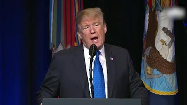 """特朗普要搞""""星球大战""""当场狂言:若需要 美国能比任何人坏得多"""