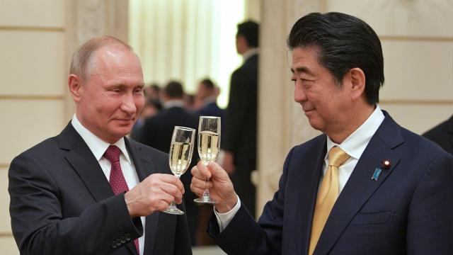 为解决日俄领土争议 安倍考虑放弃93%领土主权?