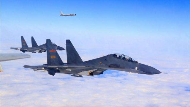 今年首次!解放军多架战机绕台 岛内网友:欢迎保护台湾