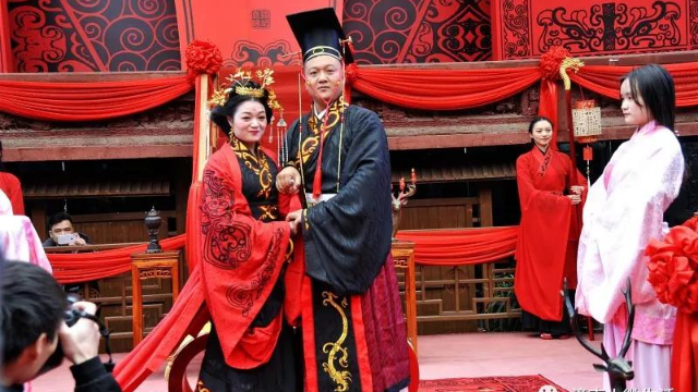 重庆·潼南双江古镇汉式婚礼