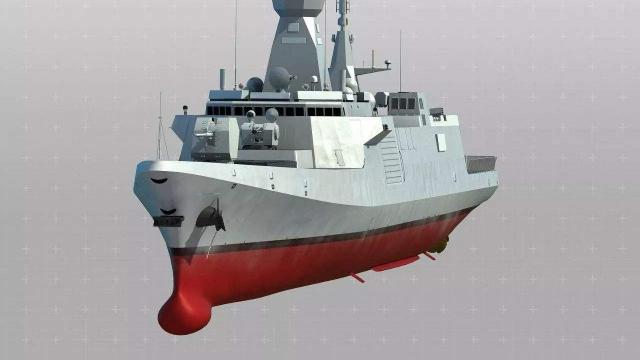 054b隐形护卫舰有多先进?火力超过驱逐舰,排水量大幅提升