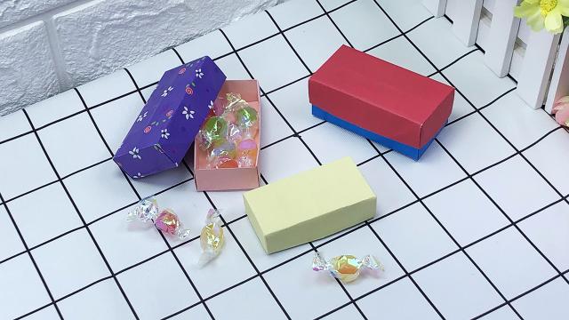 061折纸教程,如何手工制作实用又漂亮的d型带盖收纳盒呢?