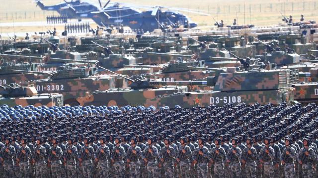 中国与美俄在军事方面的差距,到底有多大?其实完全不用担心