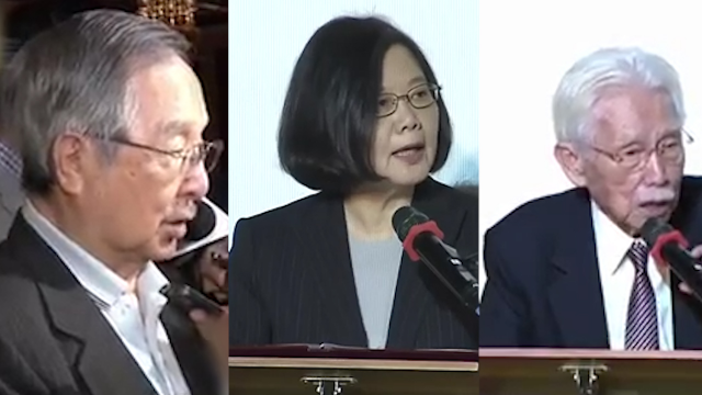 """蔡英文气炸了!""""独派""""大佬齐喊话:别参选2020 是对台湾好"""