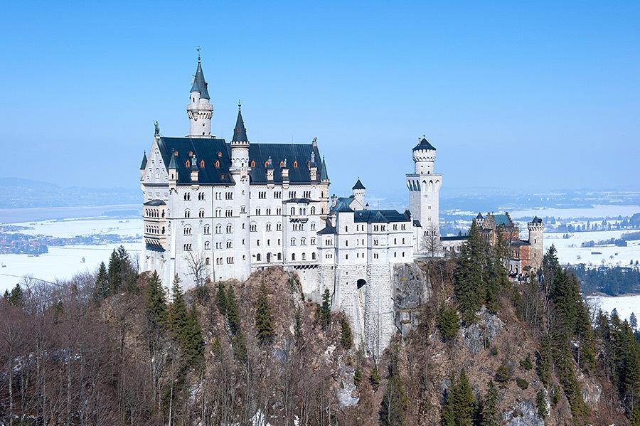 德国最热门最梦幻的旅游景点  独特的造型被众多作品借鉴