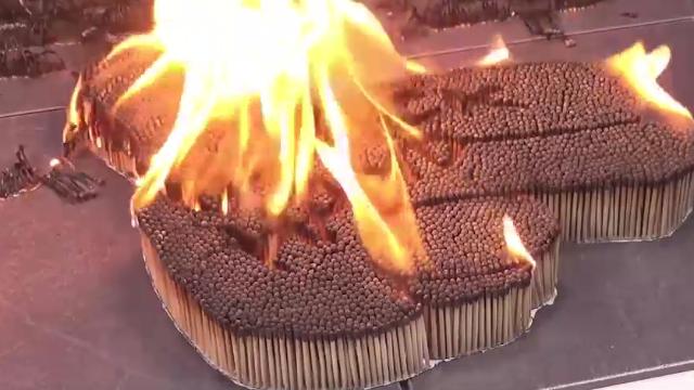儿童火柴摆图案360图片