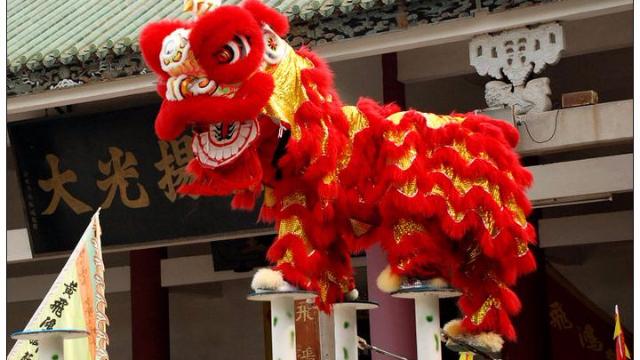 中国传统舞狮文化