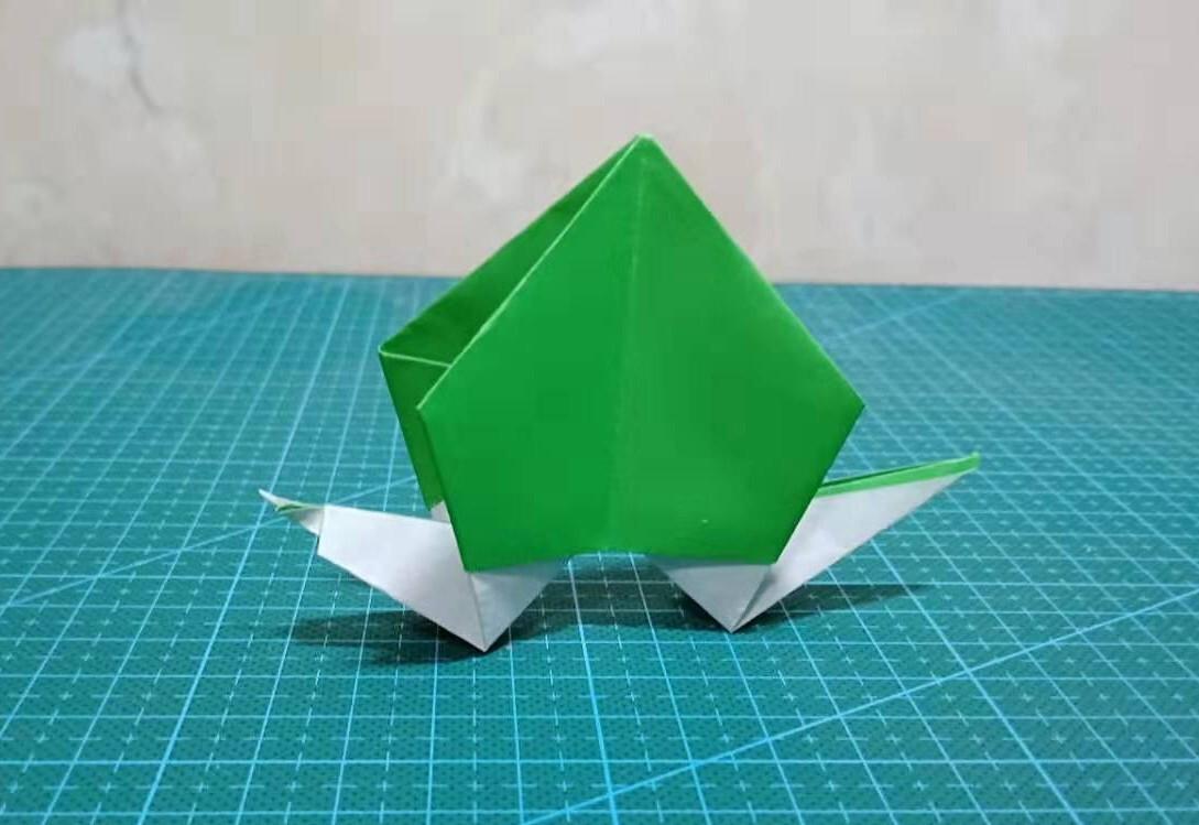 100蝴蝶折纸步骤图解法