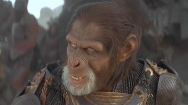 科学家的飞船坠毁,来到猿人统治的星球,还被抓去当奴隶