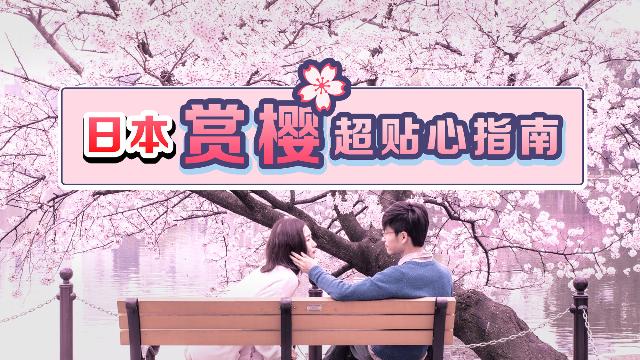 少女心限定!日本赏樱超贴心指南