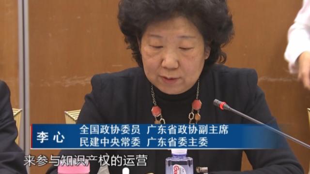 全国政协委员李心:鼓励更多社会资本参与知识产权运营