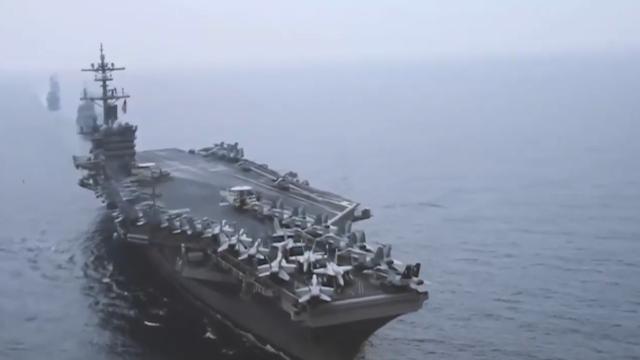 终于认清实力,美国盟友放弃派航母巡航南沙,直言不想火上浇油