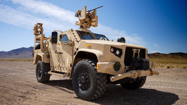 悍马时代即将终结 美国陆军开始装备新一代越野车