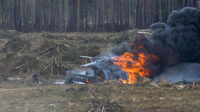 不可思议的直升机坠毁事故