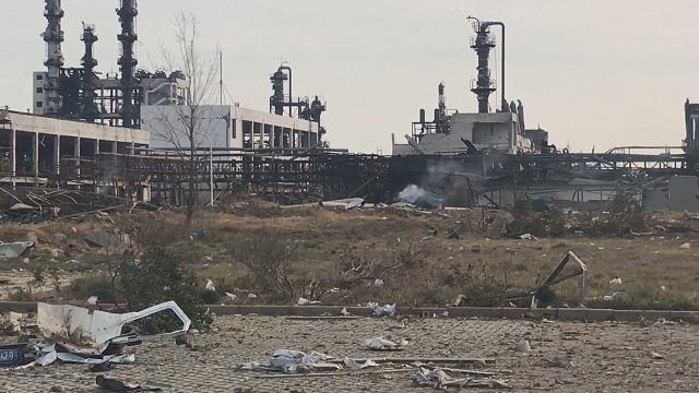 建筑物受损严重!实拍:江苏响水距离爆炸点不足500米的现场