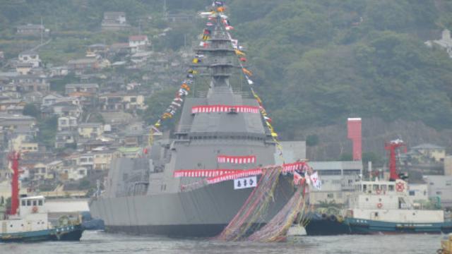 日本新型驱逐舰服役,排水量只有5100吨,造价却接近055