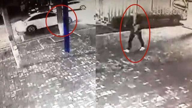 湖南滴滴司机遇害监控视频曝光!凶手边走边整理衣袖