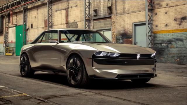 新标致E-传奇-完美的未来汽车