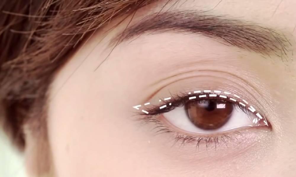 初学者怎样画眼线时尚达人教你基础日常眼线教程