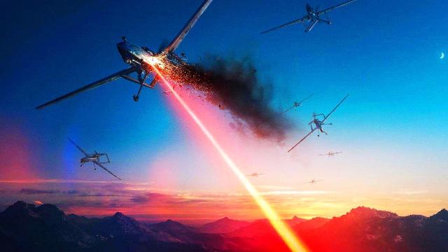 超炫的激光武器作战运用场景