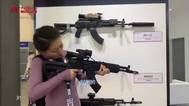 卡拉什尼科夫又有新款步枪 看上去就很厉害