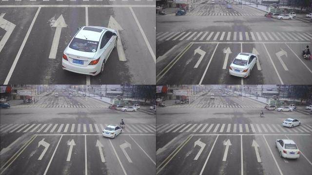 车子在右转车道直接直行算违章吗?