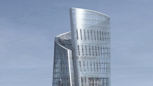 《流浪地球》中的上海中心大厦,究竟是什么样?
