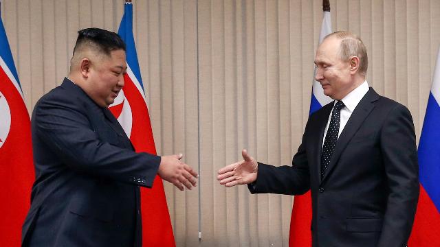 """一分钟回顾""""金普会""""全程 朝俄领导人达成了什么共识?"""
