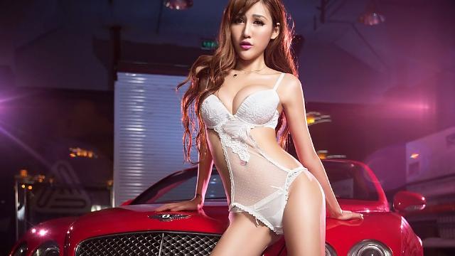 Seoul Auto Salon首尔自动沙龙赛车模型崔艺录