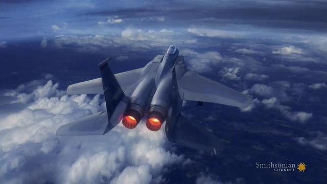 一代名机F15拥有强大火力!曾经的王者让人望而生畏!
