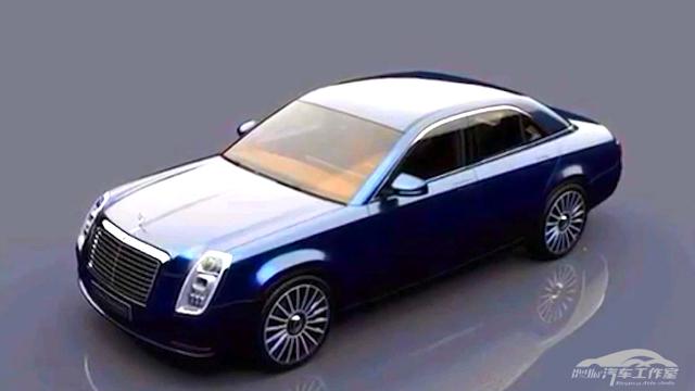下一代奔驰E概念车设想 头灯变成竖立 类似凯迪拉克的前灯造型