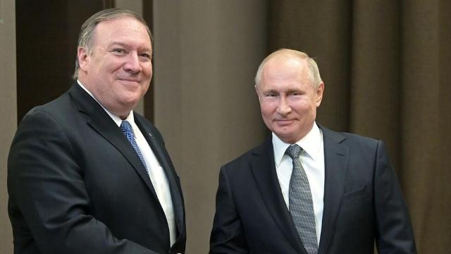 普京当面告诉蓬佩奥:是时候恢复俄美关系了