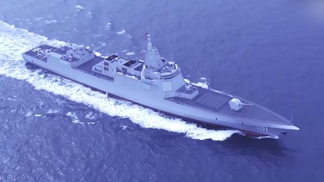 帅气!北海舰队50秒高燃大片:辽宁号航母抢眼 055大驱压轴