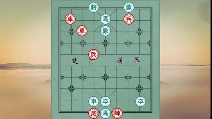 """中国象棋:兵临城下,高手第一步就无从下手,都栽在""""車""""上"""